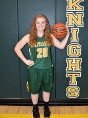 Madi Clay, Northeastern High School girls basketball