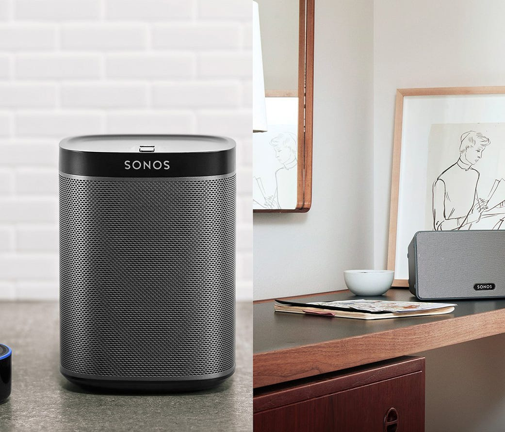 Audiophiles with a penchant for technology will love Sonos smart speakers.