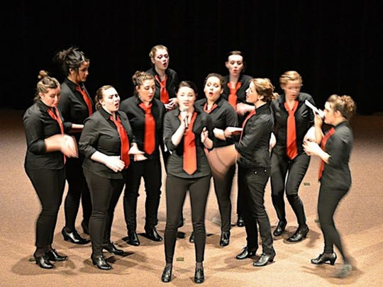 Divisi, an all-female a cappella group from University of Oregon, will perform as part of An Evening of A Cappella Feb. 12 at the Grand Theatre.