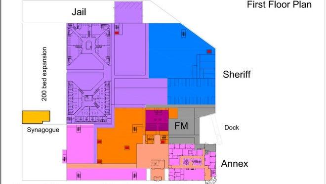 A Portage County committee voted Thursday to recommend the county move forward with plan to build a new jail in downtown Stevens Point attached to the Portage County Annex.