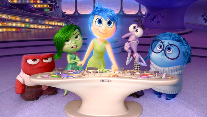 """The Oscar-winning """"Inside Out"""" screens Aug. 13."""