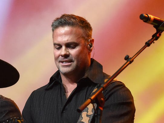 Troy Gentry of Montgomery Gentry performs in Nashville