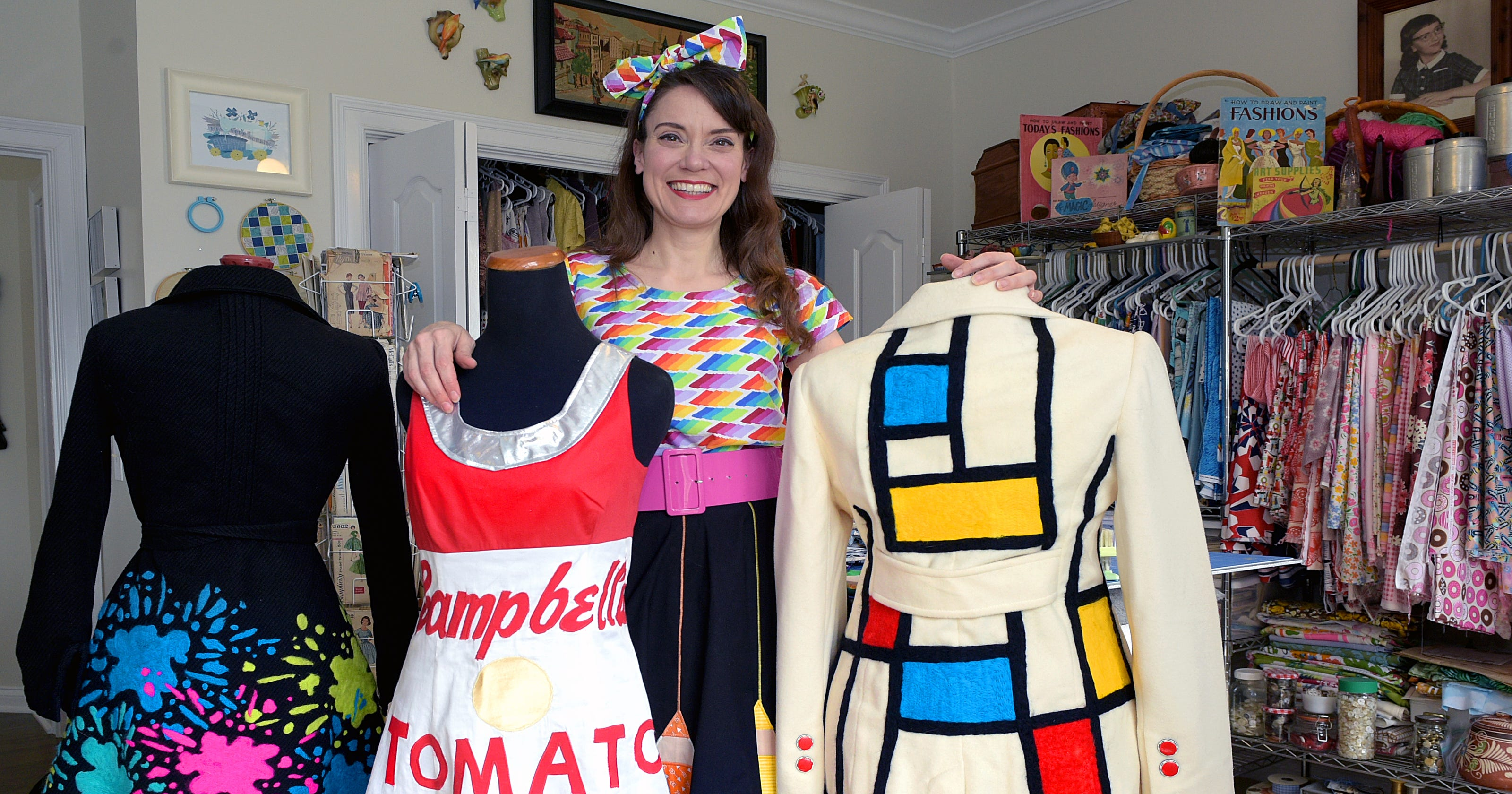 franklin art teacher s funky style inspires students