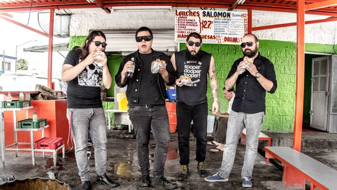 El Paso-Juárez band Nalgadas will celebrate its record release with a party on Saturday at Warszawa, 216 S. Ochoa.
