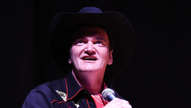 """Director Quentin Tarantino says he wants to produce a four-hour """"Django Unchained"""" mini-series"""