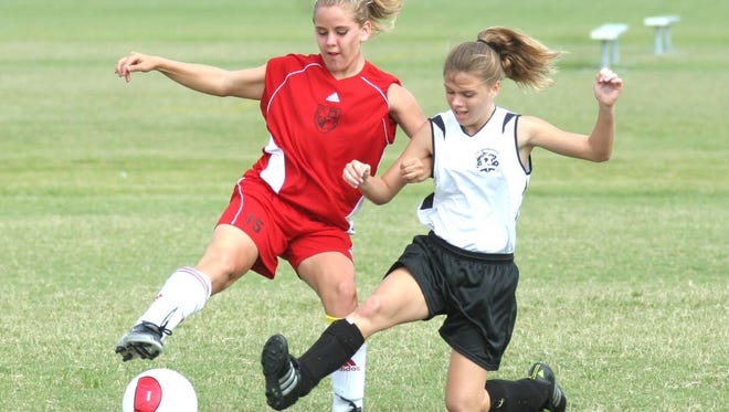 Soccer matches are among the recreational activities at Palm Bay Regional Park, off Malabar Road in northwest Palm Bay.