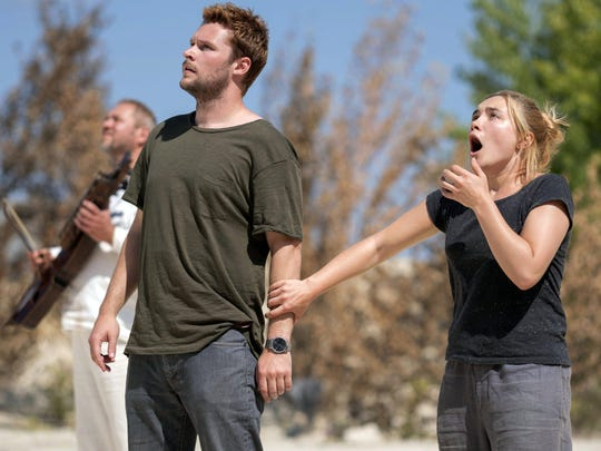 "Jack Reynor and Florence Pugh in ""Midsommar."""