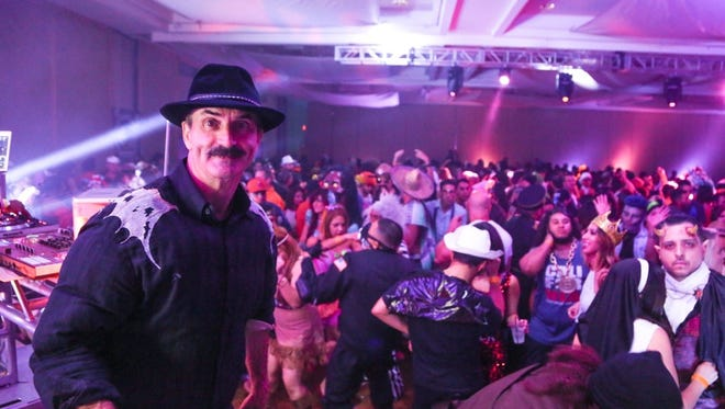 BB's 31st annual Halloweekend Bash at the Hard Rock Hotel Palm Springs attracted thousands for the holiday weekend.