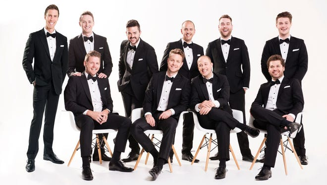 The TEN Tenors perform in Mountain Home on Dec. 19.