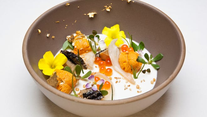 """One of California's most lauded chefs, Michael Cimarusti, serves his iconic dish, """"The Ugly Bunch,"""" at Michelin-starred restaurant Providence."""