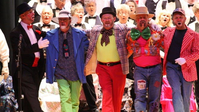 Rescue Hose Company volunteers and other members of the Greencastle community perform in a past Hobo Minstrels Show. The 81st show is this year, March 10-12.