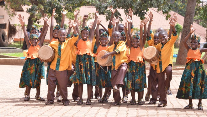 The African Children's Choir will perform on Friday at Hutchinson Missionary Baptist Church.