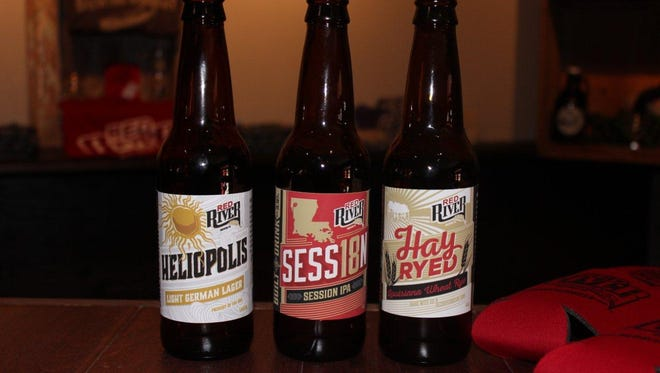 In addition to a few regular offerings, Red River Brewing has a few seasonal offerings, as well.