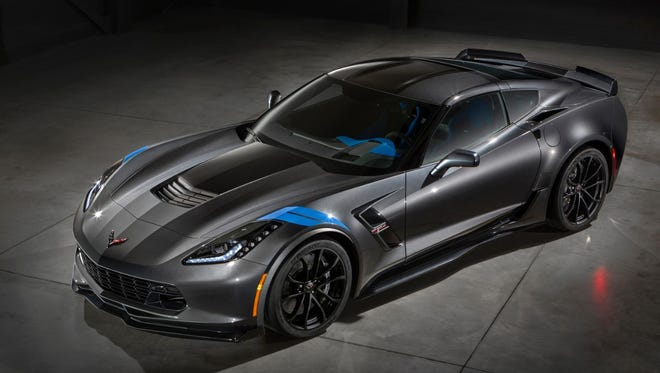 The Chevrolet Camaro Corvette Grand Sport Collector's Edition will be auctioned in Florida this Friday.