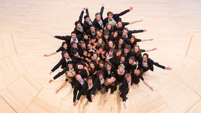 Willamette Chamber Choir will give its spring concert at 7 p.m. April 24 at Hudson Hall at Willamette University. They will be joined by Male Ensemble Willamette and Voce Femminile.