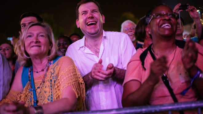 VIP pass holders enjoy front row spots for FIL performances.