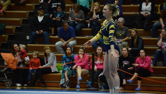 Grand Ledge's Rachel Hogan captured three Division 1 state championships in her senior season.