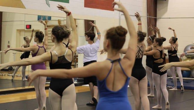 File photo of past Pensacola State College Summer Dance Workshop participants.