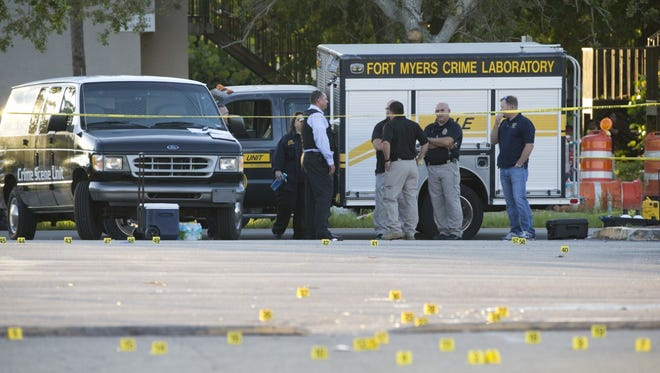 Two people are dead and up to 16 are injured following a deadly shooting at Club Blu in Fort Myers.