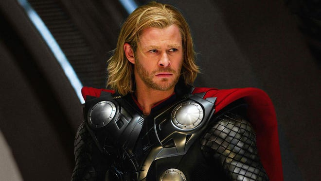 Chris Hemsworth from the 2011 Kenneth Branagh film 'Thor.' Credit: Marvel.
