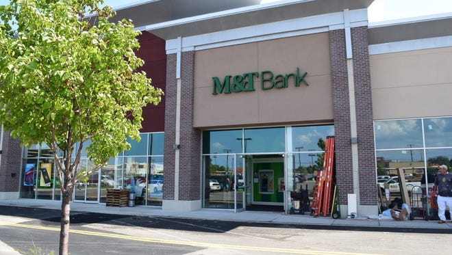 M&T Bank's branch in Irondequoit's Home Depot Plaza.