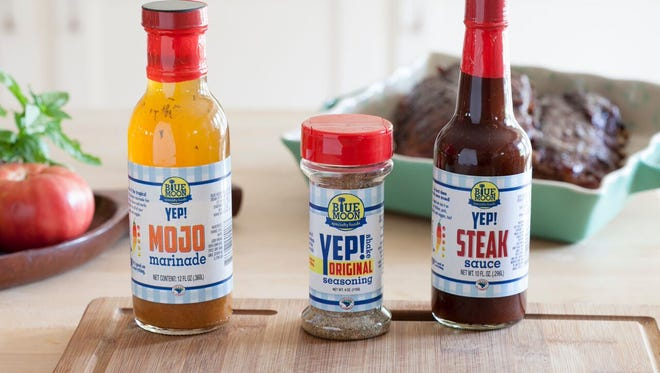 Blue Moon Specialty Foods, which produces a line of marinades, seasonings, salsas, dressings and now prepared foods, has opened its first retail location in Spartanburg.