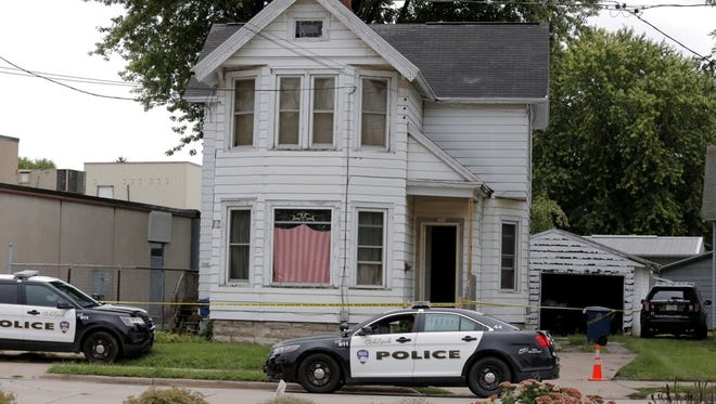 A residence at 308 Bowen St. in Oshkosh was the scene of a strong-arm robbery Saturday morning.