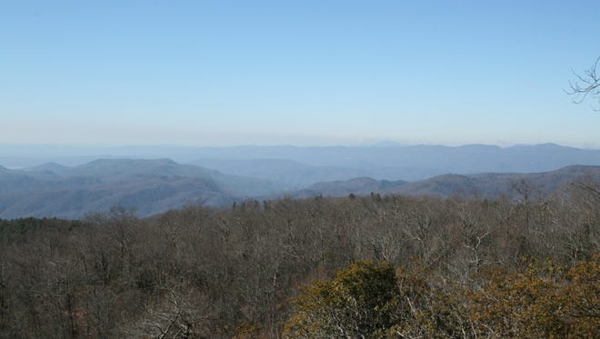 To get to Brevard, N.C., you must first go over Sassafras Mountain in South Carolina.