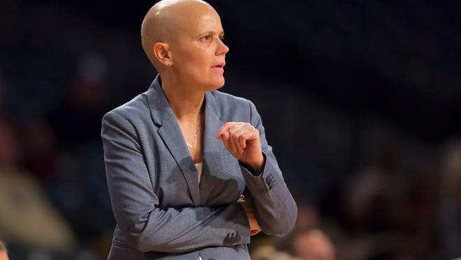 Coaching is therapy for the Appalachian State women's basketball coach Angel Elderkin, who has battled endometrial cancer.