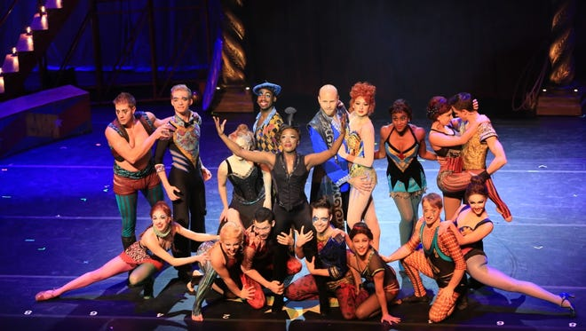 The cast of 'Pippin,' which is coming to The Strand Jan. 27.