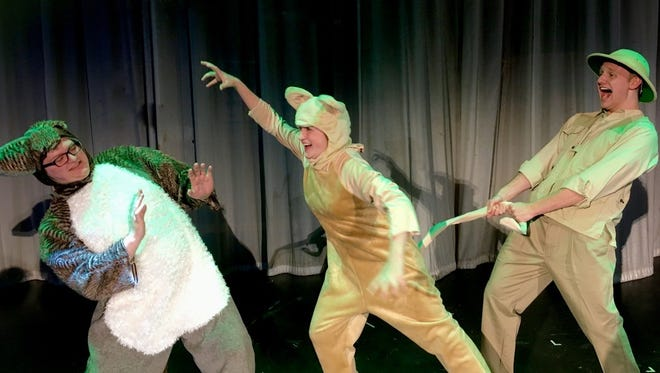 """Don't miss the final performance of """"Madagascar"""" Sunday at the Wichita Theatre."""