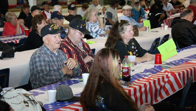 More than 600 Vietnam veterans and their families took part in the 30th annual Tet Reunion on Saturday at the Taylor County Expo Center.