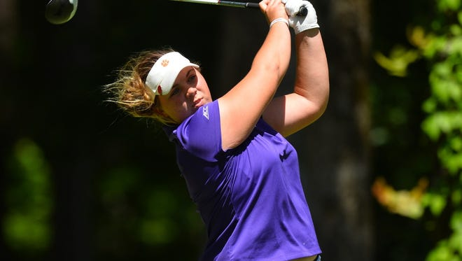 Alice Hewson led Clemson to its first tournament win ever at this week's UCF Challenge.