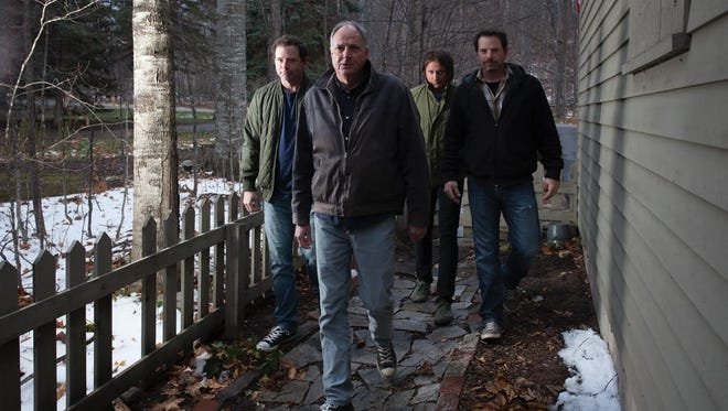 Guided by Voices' Tobin Sprout (front) and his band will perform as part of the River Series on May 21 with Elf Power.