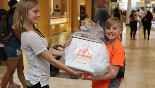 Cordova Mall was filled Thursday, April 22, with hundreds of people who came out to support the Gulf Coast Kid's House during Chocolate Fest.