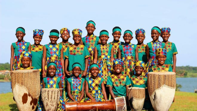 The African Children's Choir will perform at Oshkosh's Alberta Kimball Auditorium May 31.