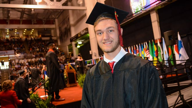 Jack Nieters graduated from St. Cloud State in May and was a student teacher at Apollo High School. This fall, he'll be a science teacher in New Ulm.