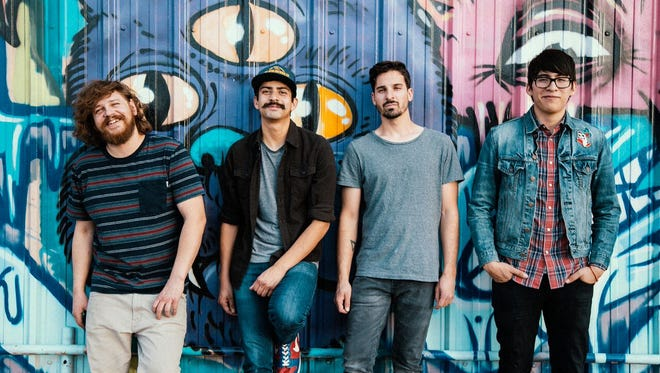 El Paso's Great Shapes will perform Friday at Lowbrow Palace, 111 E. Robinson Ave., during a release party for its new seven-song EP.