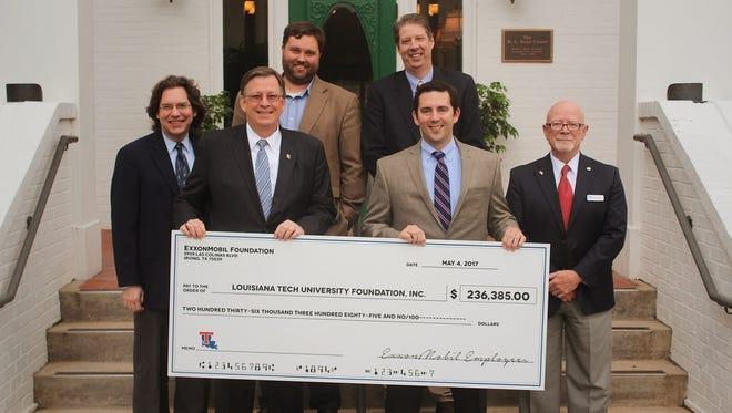 ExxonMobil makes generous donation to Louisiana Tech