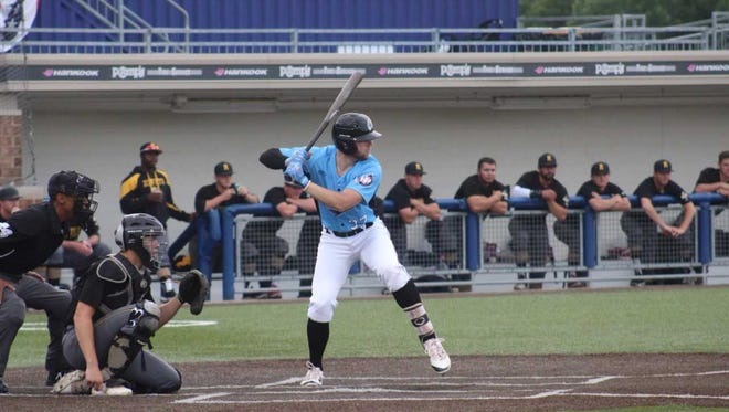 Lakeshore Chinooks shortstop Owen Miller hit his second cycle in three days during last nights game against the Rockford Rivets.