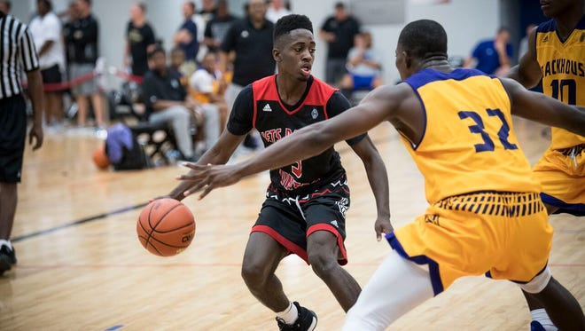 Louisville pledge Courtney Ramey won a Missouri state championship as a junior with Webster Groves High.