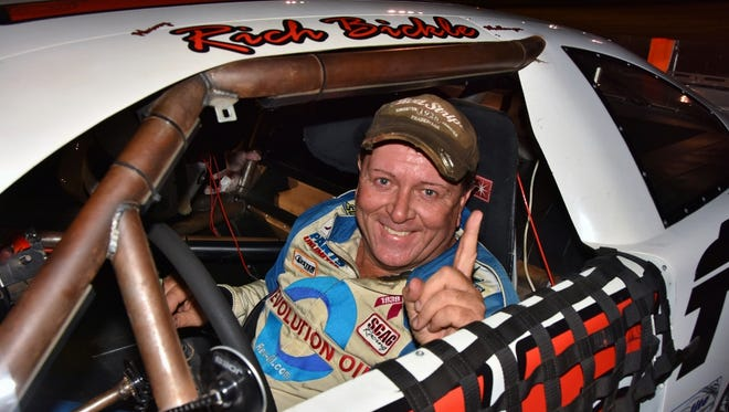 Rich Bickle scored his first victory of the 2017 on July 7 at Madison International Speedway.