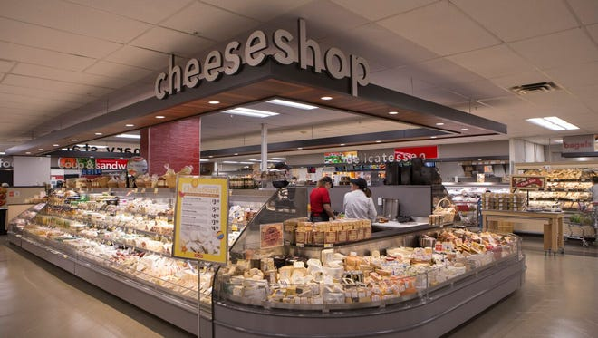 ShopRite of Flemington has added a special cheese section as part of a $10 million renovation.