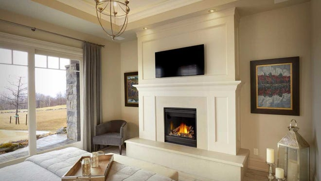 Whether you have a wood-burning fireplace or an upscale gas fireplace like this one, make sure it's properly maintained and poses no health or safety risks before starting a fire in it this year.