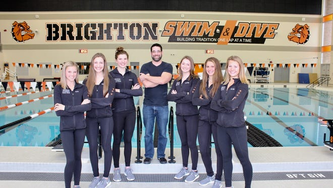 The 2017 Brighton girls swim team has a chance to be the best in school history.