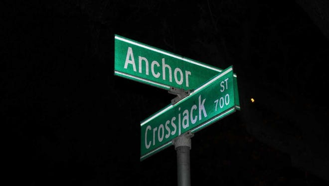 A man was found shot under a stairway Wednesday night near Anchor Avenue and Crossjack Street in Port Hueneme.