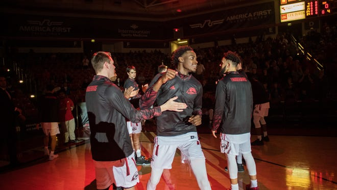 Dwayne Morgan is looking to end his college career on a high note at SUU.