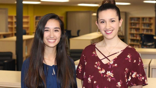 Amanda Mui (left) and Miranda Spindt (right) both earned Herb Kohl Education Foundation Excellence Scholarship Honors recently.