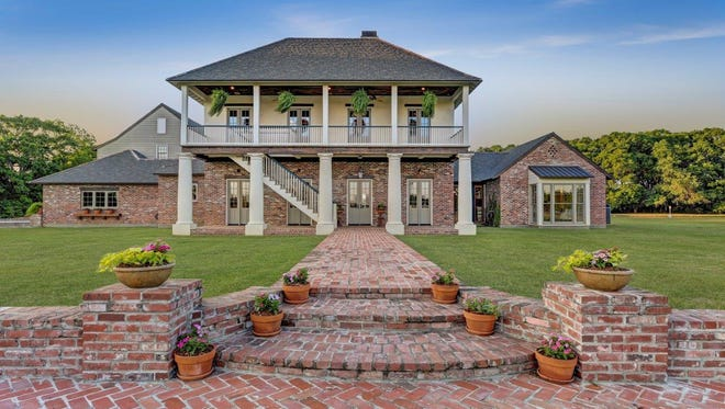 This 5 bedroom, 61/2 bath home is located at 2353 E Ebey Street in Church Point, Louisiana. It is listed at $2,225,000.