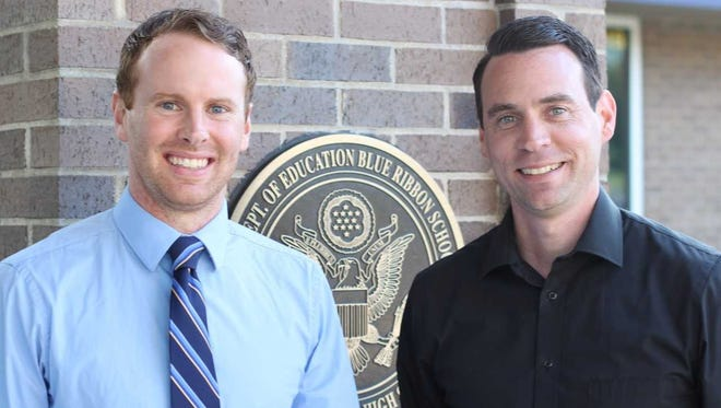 Justin Bestor (left) was hired as a new associate principal at Kettle Moraine High School, while Ryan Tomczyk (right) was hired as Kettle Moraine's new activities director.